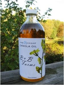 B&B Farms Oil Bottle